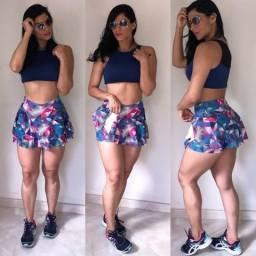 Shorts Saia Soltinho Atacado Moda Fitness de Fabrica