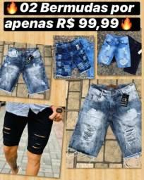 Bermudas jeans e moleton ?