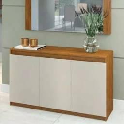 Buffet onix com painel espelhado L442
