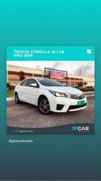 Toyota corolla gli 1.8 automático cvt flex 2015/2016 - jpcar - 2016