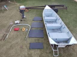 Barco de alumínio Perto 550