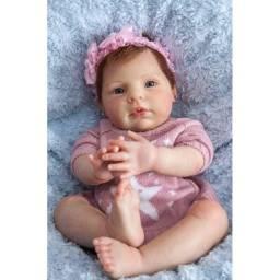 Boneca reborn Manoella.lindíssima, corpo em tecido ( promoção )