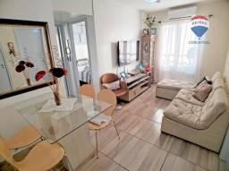 Apartamento com 3 dormitórios à venda, 52 m² por R$ 145.000,00 - Santos Dumont - São Leopo