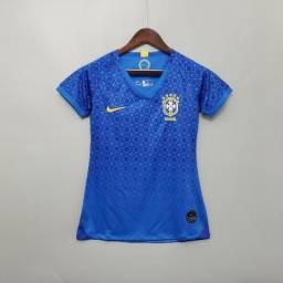 Camisa Feminina Brasil Away 19/20
