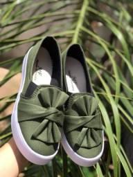 Sapatilhas verde Militar