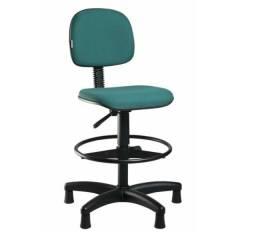 Cadeira caixa alta com aro regulavel/secretária injetada