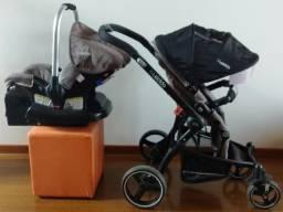 Carrinho e Bebe conforto Kiddo Aspen em perfeito estado comprar usado  Curitiba