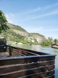 Linda Casa Linear 3Qtos Frente Lagoa c/ Piscina na ilha da Barra da Tijuca!