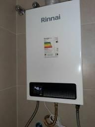 Aquecedor a gas Rinnai modelo E15
