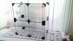 Baleiro de vidro 4 corpos