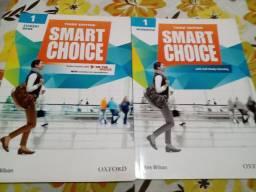 Livro Smart Choice - Student Book e WorkBook - Não usados