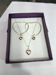 Kit joias de ouro