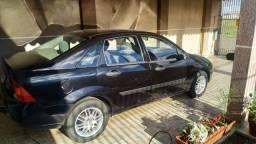 Ford Focus 2001 2.0 16v Preto Gasolina\GNV