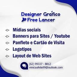 Design gráfico - freelancer