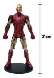 Action Figure Boneco Homem De Ferro 21cm
