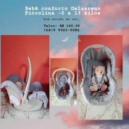 Bebê conforto Galzareno Piccoline- 0 a 13 kilos