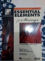 Método de violino (Essential Elements for Strings - violin book 1, 2 e 3)