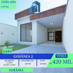 Casa De 3 Quartos - Goiânia 2 - Goiânia