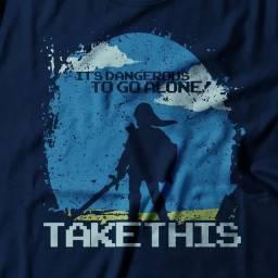 Camiseta Zelda Link Take This