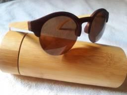 Óculos importado Madeira bambú