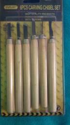 Cj de Formão antigo Entalhar oferta aproveite entalhar madeira artesanato hobbie