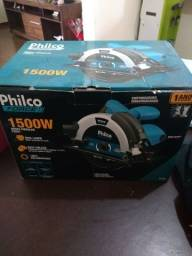 Vende-se: Serra Circular Philco Force 1500W