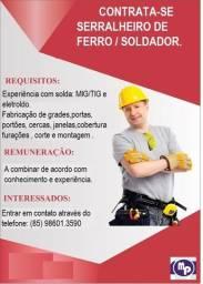 Vaga de emprego em Fortaleza