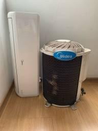 Ar condicionado 12.000 BTUs (Com defeito)