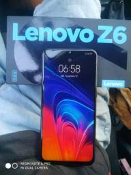 Lenovo Z6 lite zerado em superior +volta ok leia
