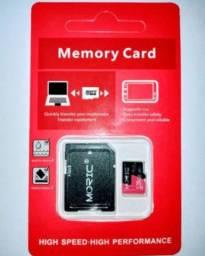 Cartão de Memória Micro SD - 128GB - Com Adaptador
