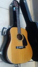 Violão Folk Fender Gemini II (1984) Captação Tone Gauge+case