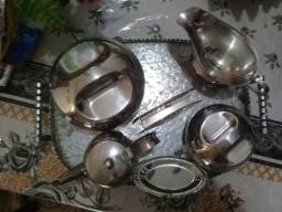 Conjunto pra mesa antigo