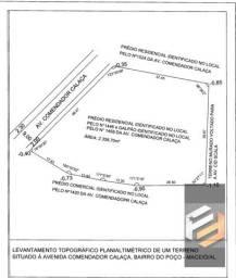 Título do anúncio: ÁREA PARA CONSTRUÇÃO PRÉDIO COMERCIAL / Centro Comercial em Poço - Maceió