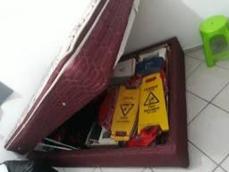 Cama Casal Box Baú 549,00