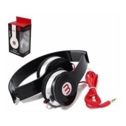 Título do anúncio: Fone De Ouvido Headphone 567 Dobrável Cabo 1m sem microfone