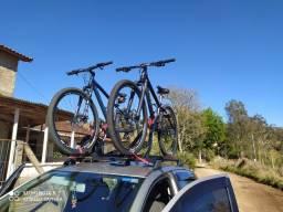 Suporte e rack para bike