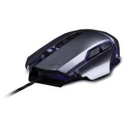 Título do anúncio: Mouse Gamer Warrior Ivor Grafite 3.200 DPI Mo262 Novo