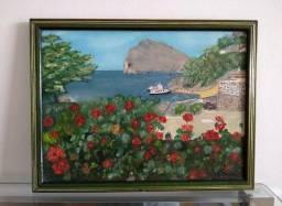 Quadro: Mônaco - Pintura Óleo