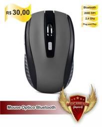 Mouse Óptico Bluetooth Portátil (Promoção)