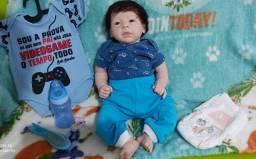 Título do anúncio:  Estou vendendo por quê minha filha não quer mais bebê reborn