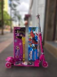 Título do anúncio: patinetes infantis lidos com buzinas