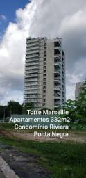 2 apartamentos 332m2 Torre Marseille Riviera P Negra