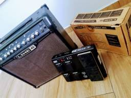 Amplicador de guitarra Multiefeitos com controlador LINE 6 SPIDER