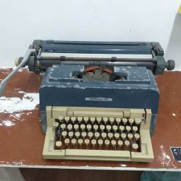 Maquina de escrever  para decoração