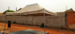 Tenda Sanfonada 3x4,5 em lona.