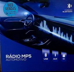 Título do anúncio: Radio Mp5 automotivo usb aux sd conecao bluetooth tela 3.9