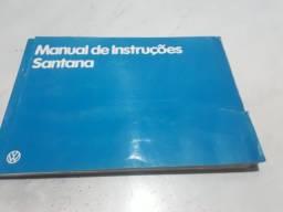 manual proprietário santana e parati VW