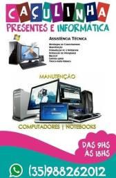 Título do anúncio: Manutenção e Formatação de computadores e Notebooks