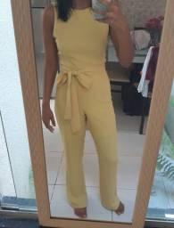 Macacão amarelo p