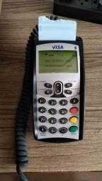 Maquina de cartão de crédito Visanet